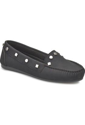 Miss F Ds18016 Siyah Kadın Loafer