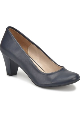 Miss F N16036-18S Lacivert Kadın Gova Ayakkabı