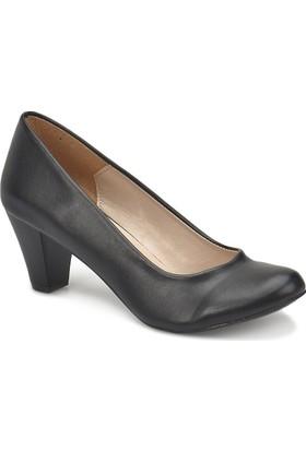 Miss F N16036-18S Siyah Kadın Gova Ayakkabı
