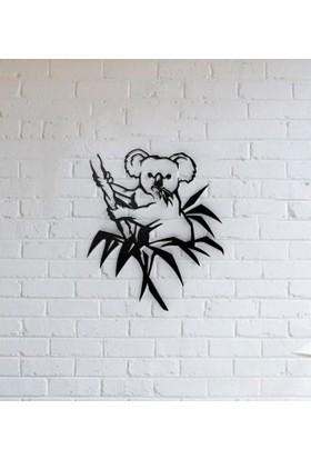 Dizayn House Metal Tablo Koala