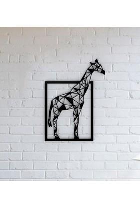 Dizayn House Metal Tablo Giraffe