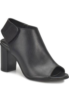 Miss F 135030-18S Siyah Kadın Basic Dress