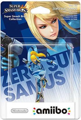 Nintendo Amiibo Super Smash Bros Zero Suit Samus Figür