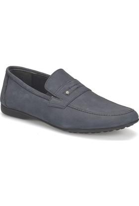 Garamond 2663 Lacivert Erkek Deri Ayakkabı