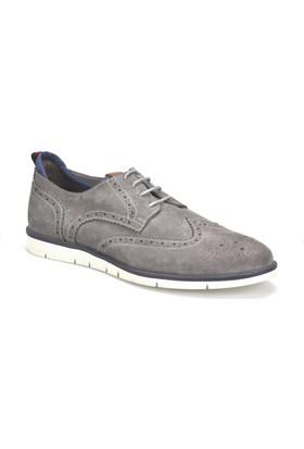 Garamond 300 Gri Erkek Deri Ayakkabı