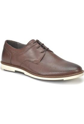 Garamond 302 Kahverengi Erkek Deri Ayakkabı