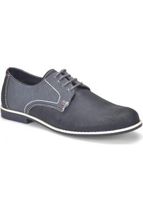 Garamond 326 Lacivert Erkek Deri Ayakkabı