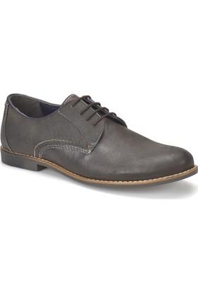 Garamond 326 Siyah Erkek Deri Ayakkabı