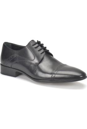 Garamond 4920 Siyah Erkek Deri Ayakkabı