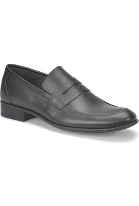 Garamond 859 Siyah Erkek Deri Ayakkabı