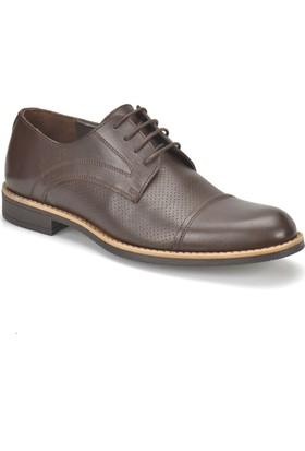 Garamond Hay-1 Kahverengi Erkek Deri Ayakkabı
