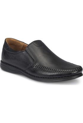 Polaris 5 Nokta 81.105517.M Siyah Erkek Deri Ayakkabı