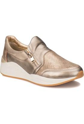 Kinetix Mayer Altın Kadın Sneaker