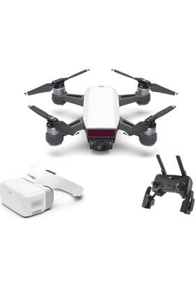 DJI Spark Drone + Kumanda + Googles FPV Gözlüklü Set