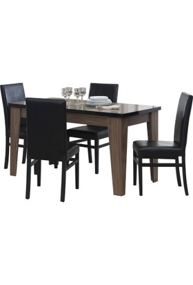 Kardel Kronos Açılır Yemek Masası (Sandalyeler Hariç)