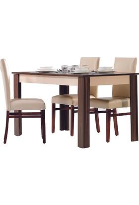 Kardel Sante Açılır Yemek Masası (Sandalyeler Hariç)