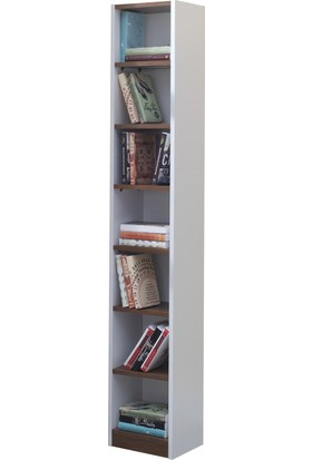 Kardel Vista Küçük Boy Kitaplık (Milas/Beyaz)