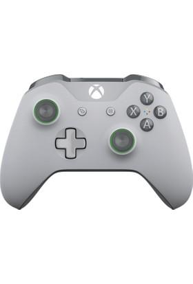 Xbox One Kablosuz Kumanda Gri Yeşil - Gray And Green