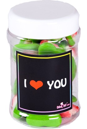 Şeker Şef Mesajlı Bonbon - I love You
