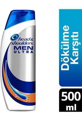 Head & Shoulders Men Ultra Erkeklere Özel Şampuan Saç Dökülmelerine Karşı 500 ml
