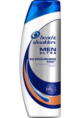 Head & Shoulders Men Ultra 500 ml Saç Dökülmelerine Karşı Erkeklere Özel Şampuan