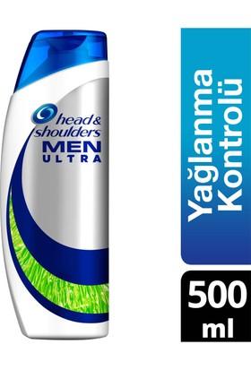 Head & Shoulders Men Ultra Erkeklere Özel Şampuan Maksimum Yağlanma Kontrolü 500 ml