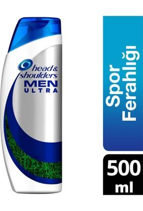 Head & Shoulders Men Ultra Erkeklere Özel Şampuan Ekstra Spor Ferahlığı 500 ml