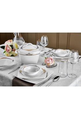Neva N2463 Alanis 60 Prç Bone Premium Yemek Takımı