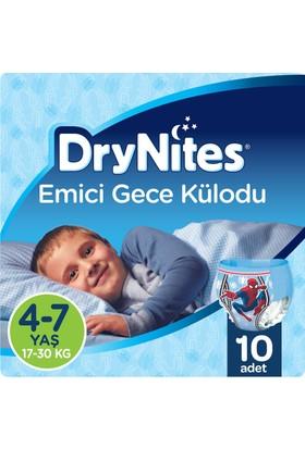 Huggies DryNites Erkek Emici Gece Külodu 4-7 Yaş 10 Adet