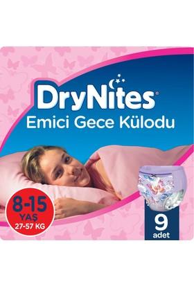 Huggies DryNites Kız Emici Gece Külodu 8-15 Yaş 9 Adet