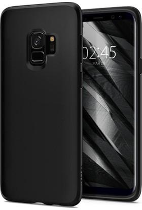Spigen Samsung Galaxy S9 Kılıf Liquid Crystal 4 Tarafı Koruma Matte Black - 592CS22825