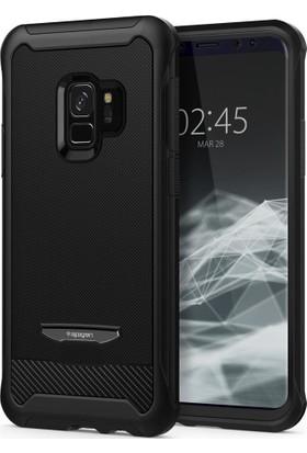 Spigen Samsung Galaxy S9 Kılıf Reventon Black - 592CS22892