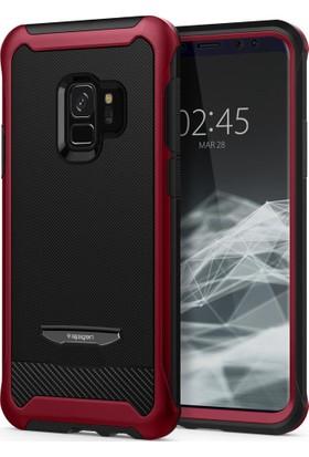 Spigen Samsung Galaxy S9 Kılıf Reventon Metallic Red - 592CS22893