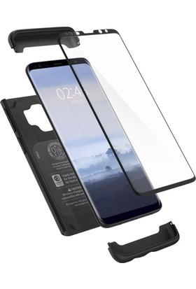 Spigen Samsung Galaxy S9 Kılıf Thin Fit 360 Black - 592CS22872