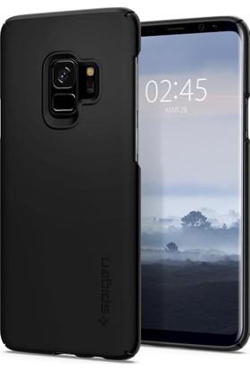Spigen Samsung Galaxy S9 Kılıf Thin Fit Black - 592CS22821