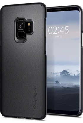 Spigen Samsung Galaxy S9 Kılıf Thin Fit Graphite Gray - 592CS22823