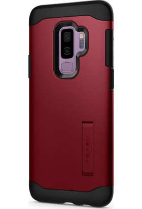 Spigen Samsung Galaxy S9 Plus Kılıf Slim Armor Merlot Red - 593CS22969