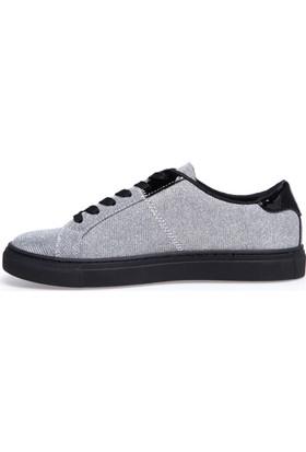 Armani Jeans Kadın Ayakkabı Gri 9252397A659