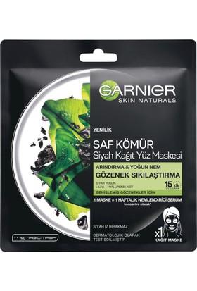 Garnier Saf Kömür Siyah Yosun Kağıt Gözenek Sıkılaştırıcı Yüz Maskesi