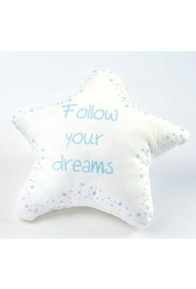 Aybi Baby Follow Your Dreams Şekilli Dekoratif Yastık