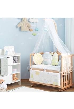 Aybi Baby Trendy Blue Anne Yanı Beşik Seti