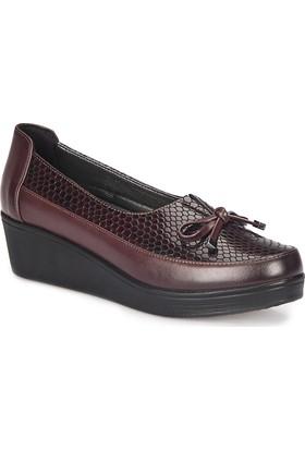 Polaris 72.158073.Z Bordo Kadın Ayakkabı