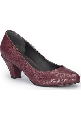 Polaris 72.310381Dz Bordo Kadın Ayakkabı