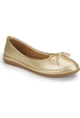 Polaris 81.155537Mz Altın Kadın Ayakkabı