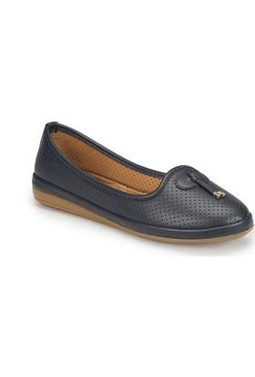 Polaris 81.157200.Z Lacivert Kadın Ayakkabı
