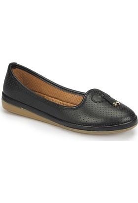 Polaris 81.157200.Z Siyah Kadın Ayakkabı