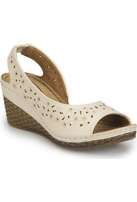 Polaris 81.157342.Z Bej Kadın Ayakkabı