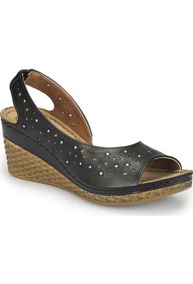 Polaris 81.157342.Z Siyah Kadın Ayakkabı