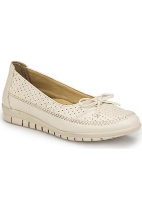 Polaris 81.158463.Z Bej Kadın Ayakkabı
