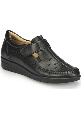 Polaris 81.158466.Z Siyah Kadın Ayakkabı